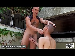 Latin Dude Chelo Gets His Ass Fucked Raw In Public By BMF - RealityDudes