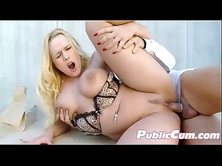 Erotic european fresh meat enjoys public sex