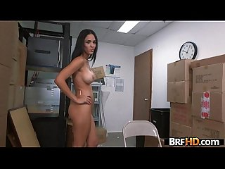 Amateur latin babe Jasmine caro first time on camera casting 1 2