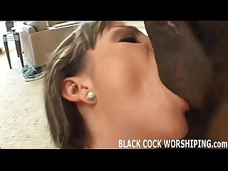 I want a big black cock inside me
