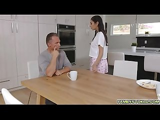 Gianna Dior confesses that she wants stepdad's cock in her mouth and pussy