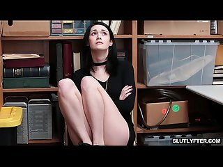 Ivy Aura The Shoplifter Gets Caught