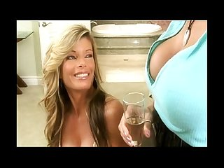 Hot milfs in amazing lesbian scene
