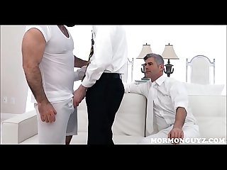 Mormon Jock Fucked By Church Daddy
