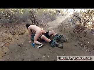 Blowjob worship Kayla West was caught lusty patrool during border