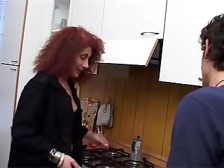 ANAL orgasm for my MOM with her young lover!!! He has a real Great Cock, my..
