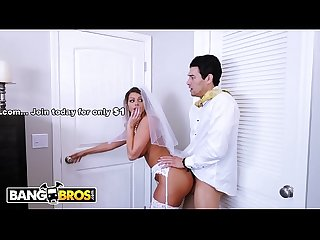 Bangbros bride milf brooklyn chase fucks her step son on wedding day