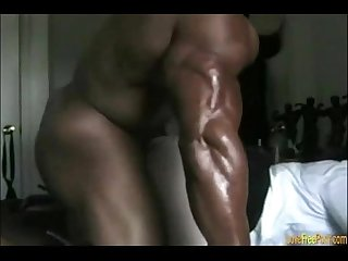 Big black muscle fucks his white bitch ifap2 info