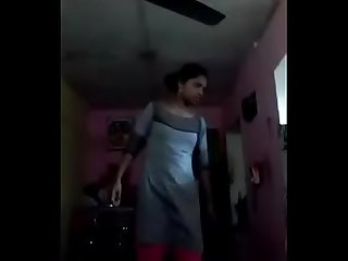 Tamil nude Selfie dance stripping shy teen