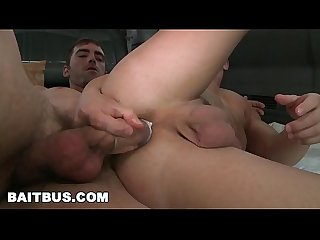 BAIT BUS - Straight Bait Joe Parker Agrees To Have Gay Sex With Marc Dylan