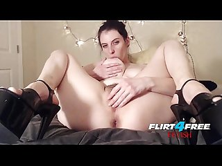 Flirt4Free - Barbie Wolf - Dirty Talking BDSM Babe Punishes Slave and Big Pussy