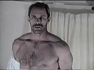 Vintage hot hairy stud solo