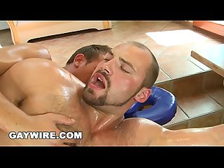 Gaywire gay massage gets hot and heavy with tomas friedel vilda