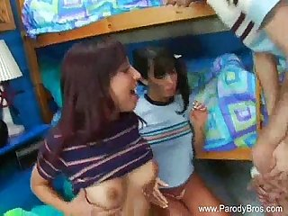 Great double blowjob fun