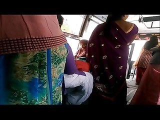 Big back Aunty in bus more visit indianvoyeur period ml