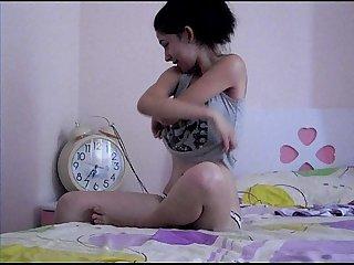 Teen girl mastorbate