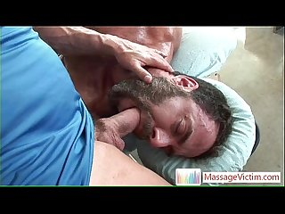 Dodge Wolf gets his first gay massage 4 By MassageVictim
