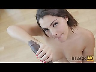 BLACK4K. Big cock can save Valentine from boredom and loneliness