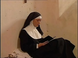 Shameless cute nun banged by a big cock in the convent