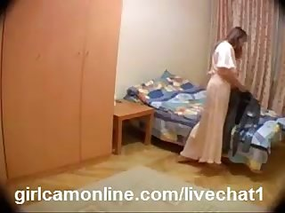 Wife caught in hidden cam-Free Signup royalcamgirls.com/cam