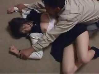 School girl Forced by older man