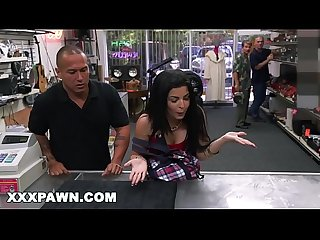 Xxx pawn feisty cuban chick estefania gets her tv broken and she is pissed