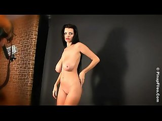 Behind the scenes of sha rizels nude photoshoot Hd from pinup files
