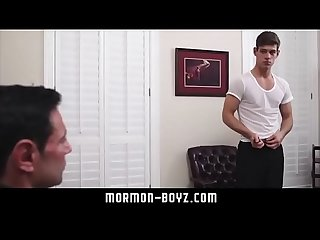 Hot muscle dad licks young teen boy and pounds his ass Raw mormon boyz com