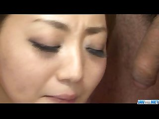Facial to end yuu shiraishis filthy oral show