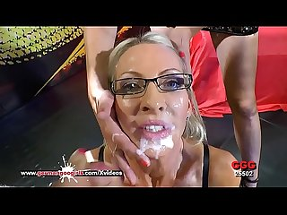 Busty mature emma starr cum hungry in germany german goo girls