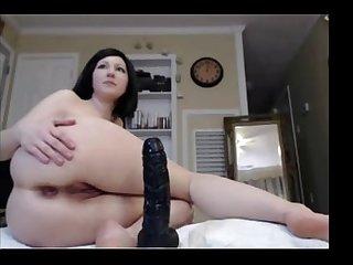 Big black anal dildo http assholecam tk