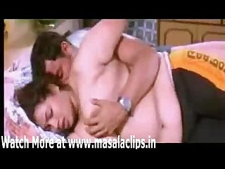 Mallu big boobs aunty topless and bedroom scene
