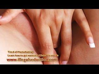 Big tit amateur lesbians finger each other part 1