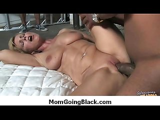 Hot milf mommy rides black monster dick 29