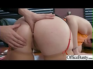 Hot Sex In Office With Big Round Boobs Girl (Lauren Phillips) video-16
