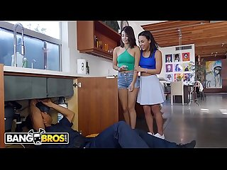 BANGBROS - Latin Sluts Crave The Plumber's Big Black Cock