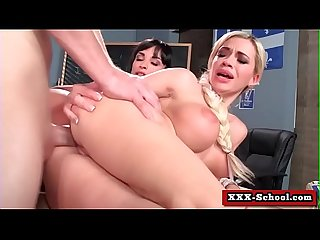 Big boobs get fucked at school 01