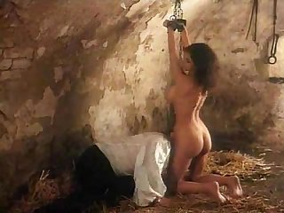 Medieval whipping and abusing