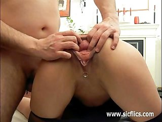 Extreme amateur anal fisting and gaping holes