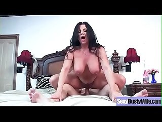 Sex tape with sluty horny busty wife sheridan love video 25