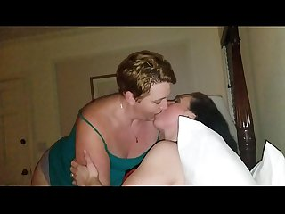 Chubby ladies kissing comma intense make out period lucky husband watches period bbw