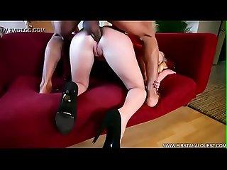 Blonde anal bbc rubia Culona gritona cachera