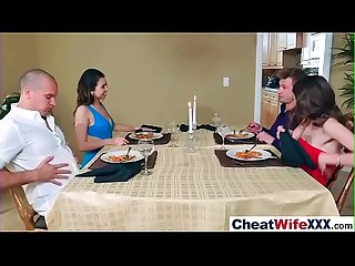 (melissa riley) Naughty Cheating Wife Hard Banged On Tape movie-20