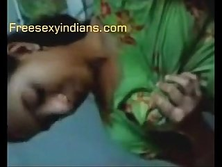Desi indian village Bhabhi with lover