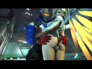 Overwatch xxx parody (by:brazzers) in the link:..