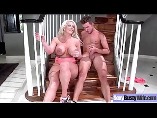 Sexy Big Tits Mommy (Alura Jenson) Enjoy Hardcore Sex Action On Tape mov-05