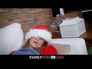 Fucking my stepdad on christmas morning watch full video on familypornhd com