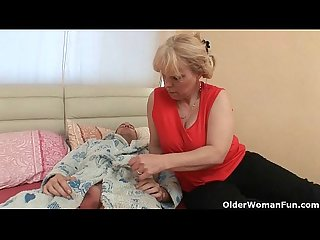 Grandma loves anal sex with her toy boy