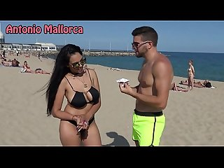 Omg she sucks my cock on the beach antonio mallorca