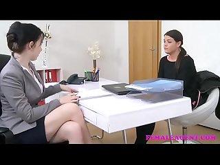 Lesbianas en la oficina